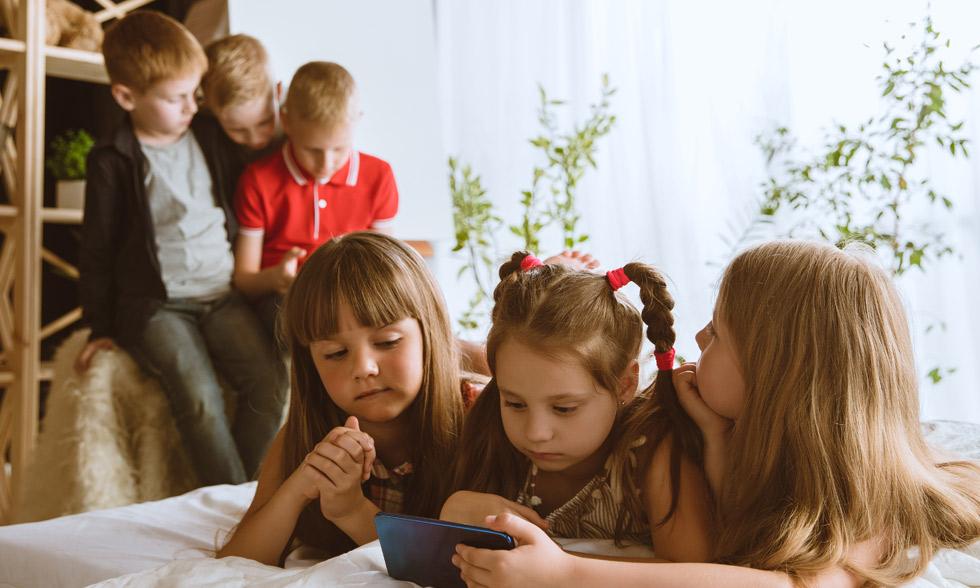 Fotos de menores en redes sociales