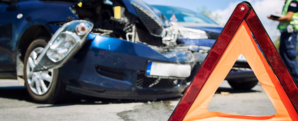 Accidente de tráfico sin vehículo culpable